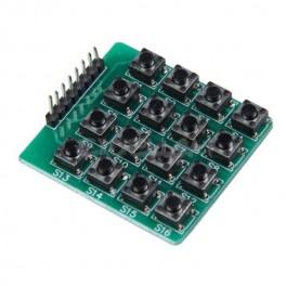 Teclado 16 teclas pulsadores
